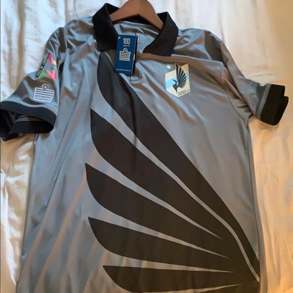 Minnesota United NASL jersey rare XL